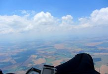 323 км с парапланер - рекорд