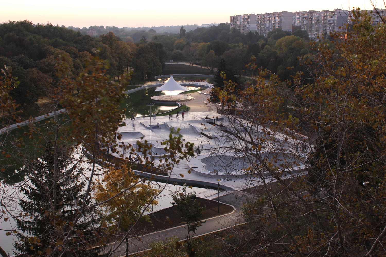 Скейт парк Добрич