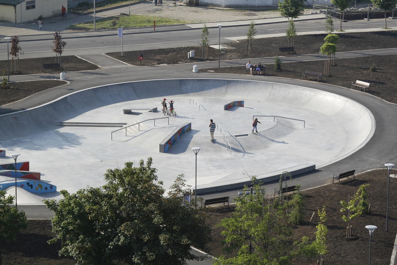 Скейт парк Бургас, скейт паркове