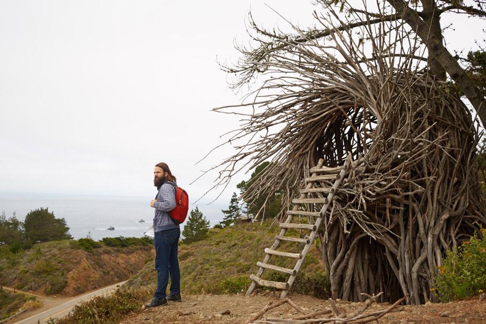 camping human nest treebones
