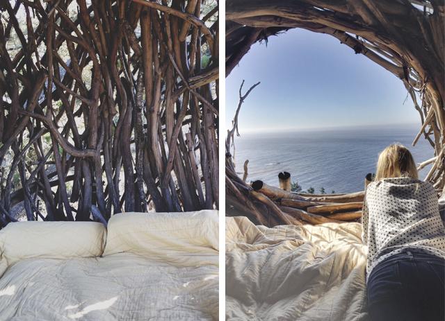 camping human nest treebones resort