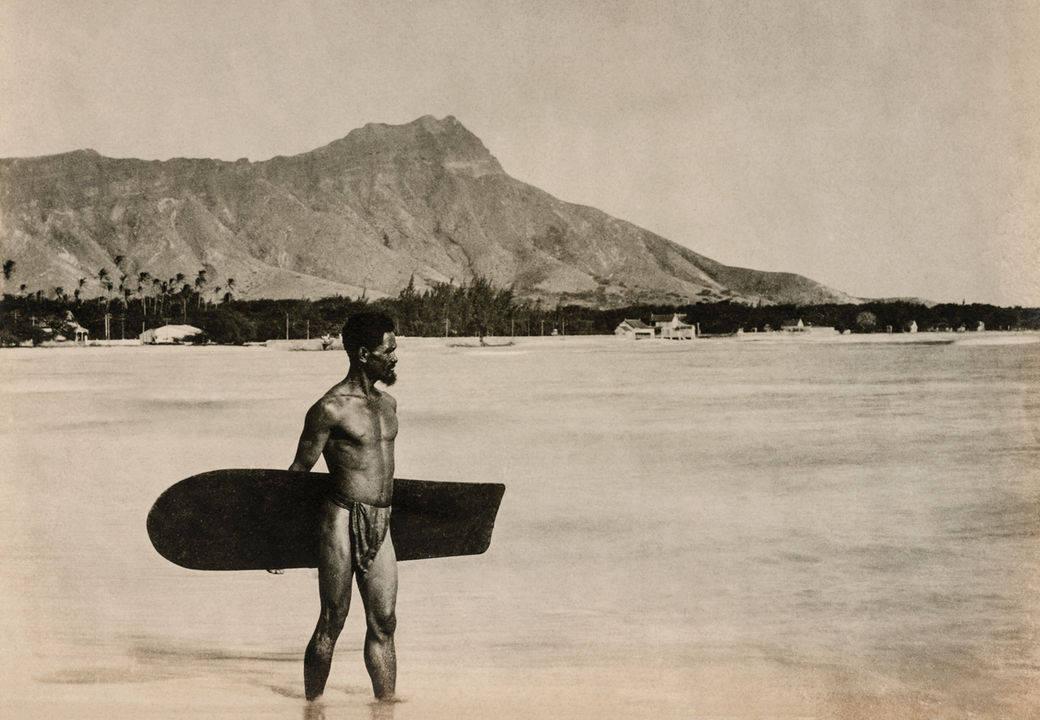 историята на сърфа