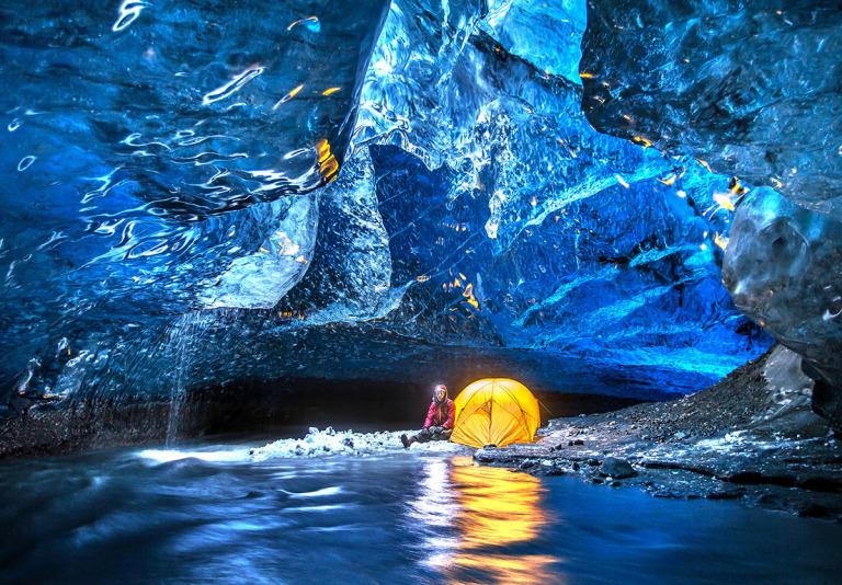 ледени пещери исландия