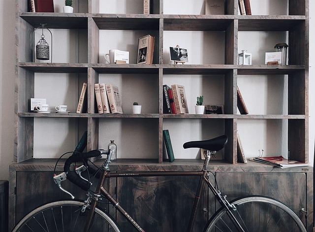 есенно почистване, колело, дизайн, интериор