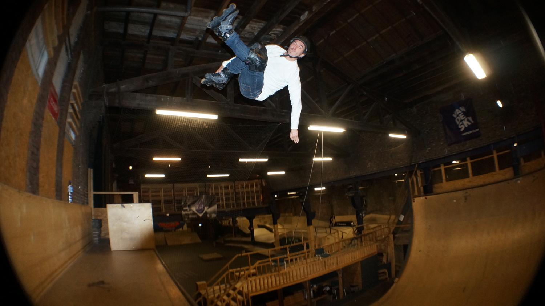 Павел Митренга състезание кънки инлайн скейтинг