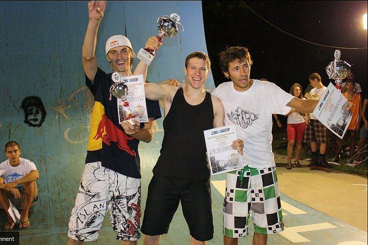 Рич Паркър инлайн скейтинг шампион