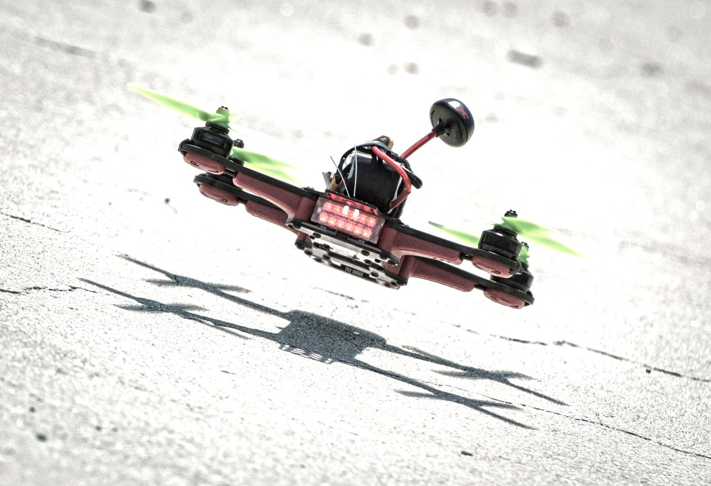 DR1 дрон рали рейсинг