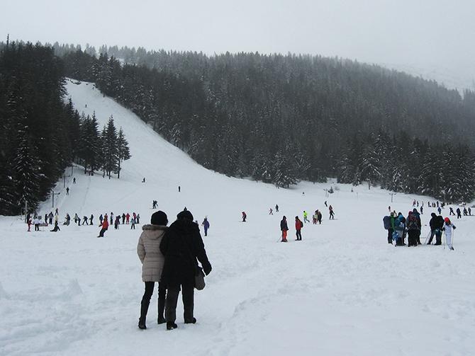 Ски писти при ЦПШ Мальовица