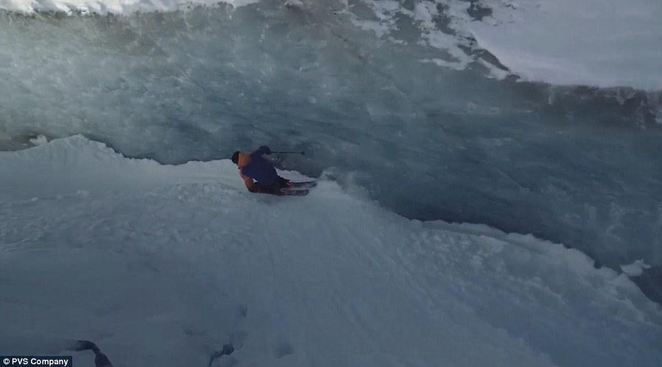 Ски в ледник