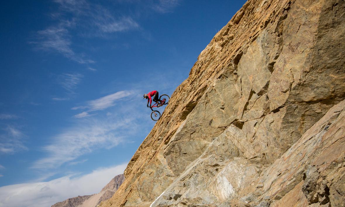 Riding on thin air