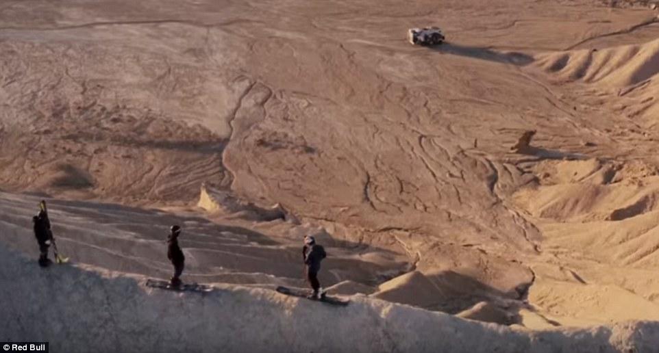 Ски в пустинята