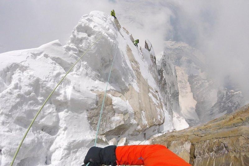 Изкачване на югоизточното ребро