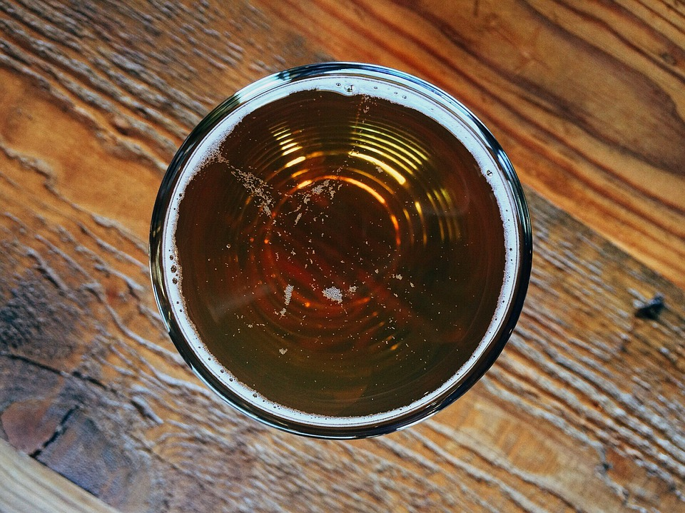 чаша с бира