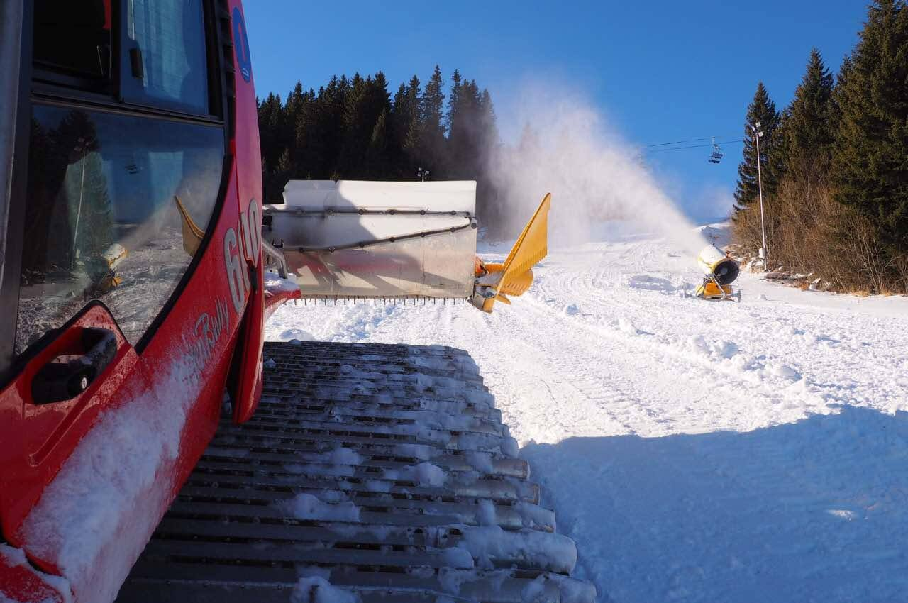 съоръжения за технически сняг