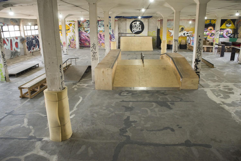 скейтпарк Five High