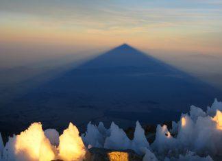 Сянката на Pico de Orizaba