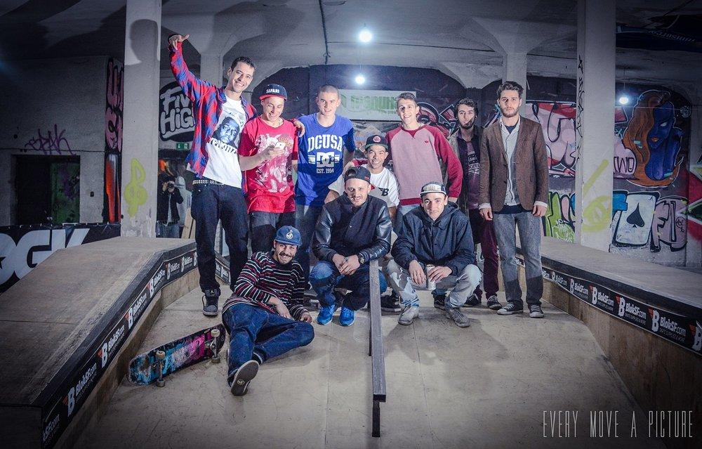 екипът на Five High