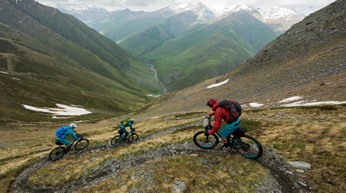 Национален парк Тушети, Кавказки планини, Грузия