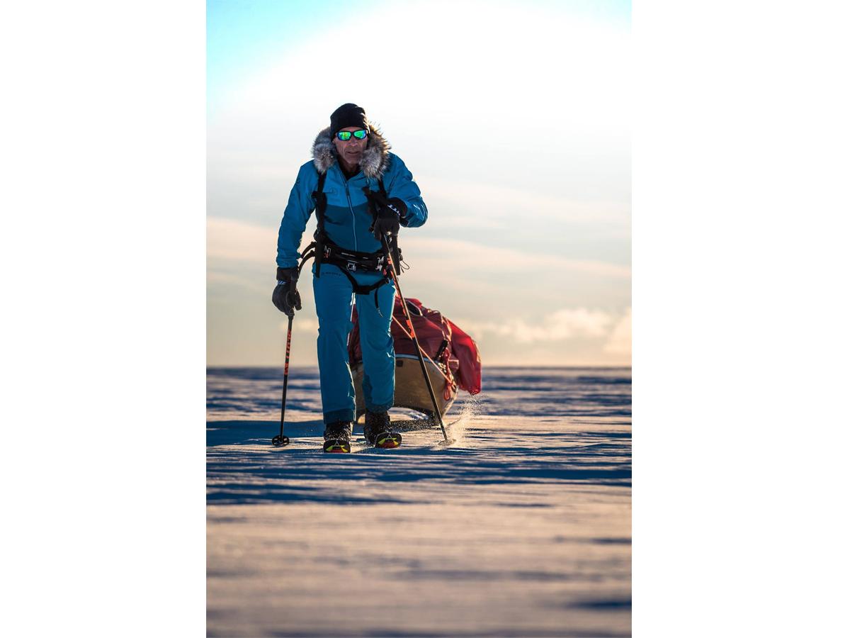 Майк Хорн на Антарктида
