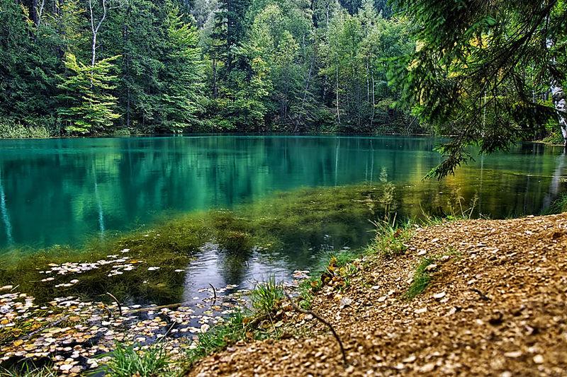 Цветни езера, Полша