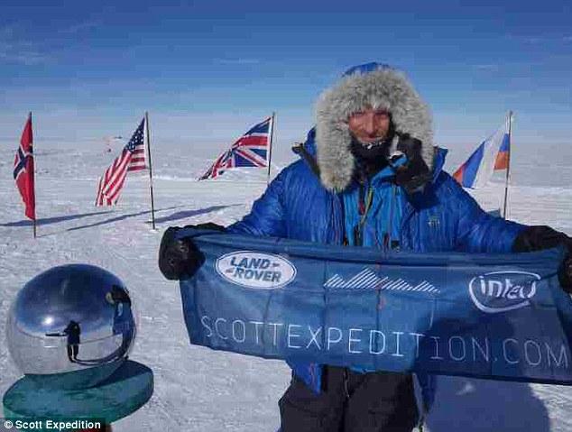Да обиколиш Южния полюс пеша за 108 дни