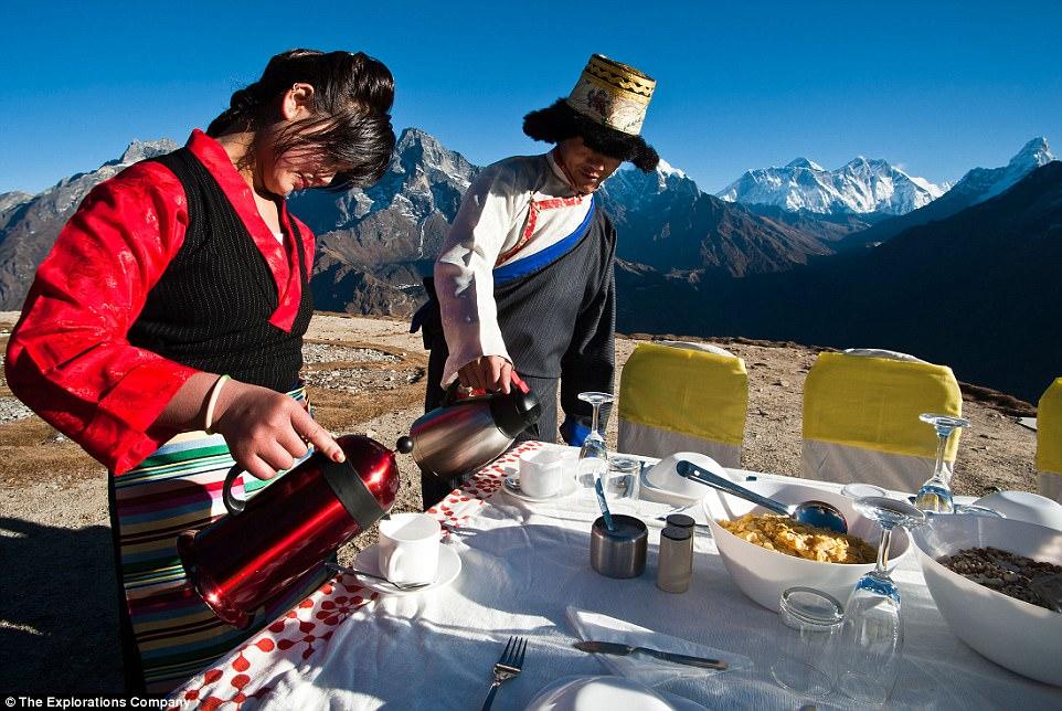 Да наминеш за закуска на Еверест