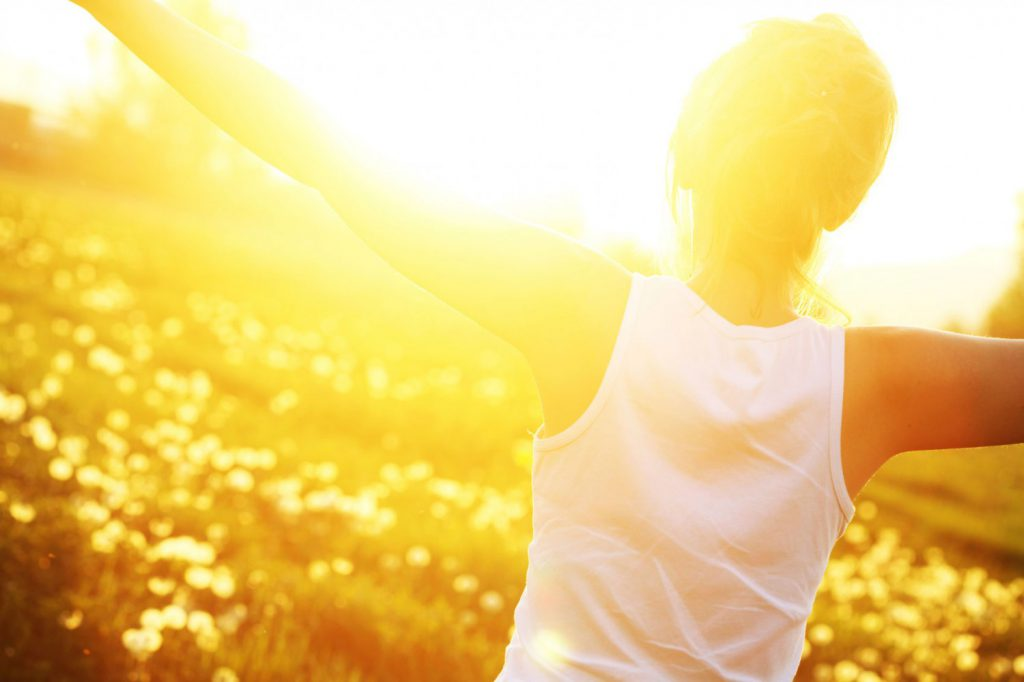 слънце, лъчи