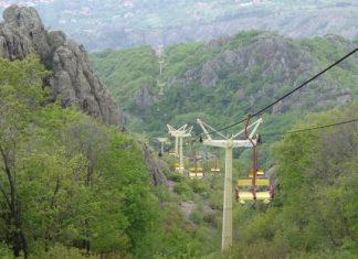 Седалков лифт Сливен - Карандила; Снимка: wikimapia.org