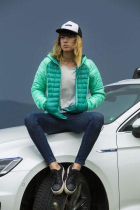 Volkswagen Passat GTE и Анжела Недялкова