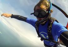 Sky to sea dive