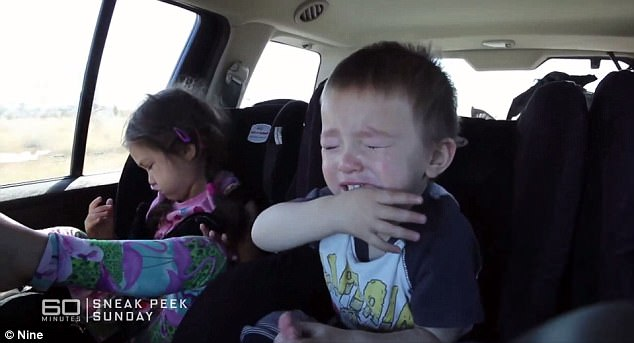 По пътя с три деца