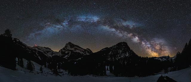 Нощ в планината