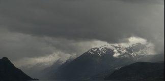Лошото време в планината