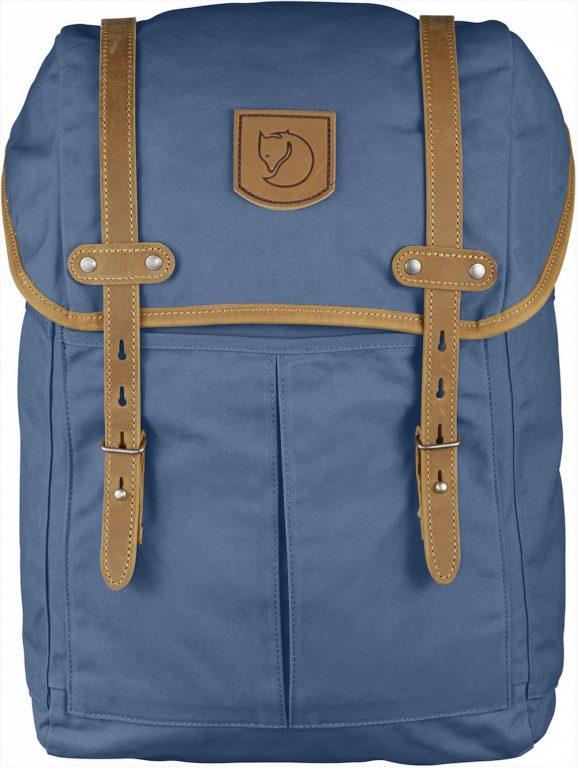fjallraven rucksack 21 med blue ridgе