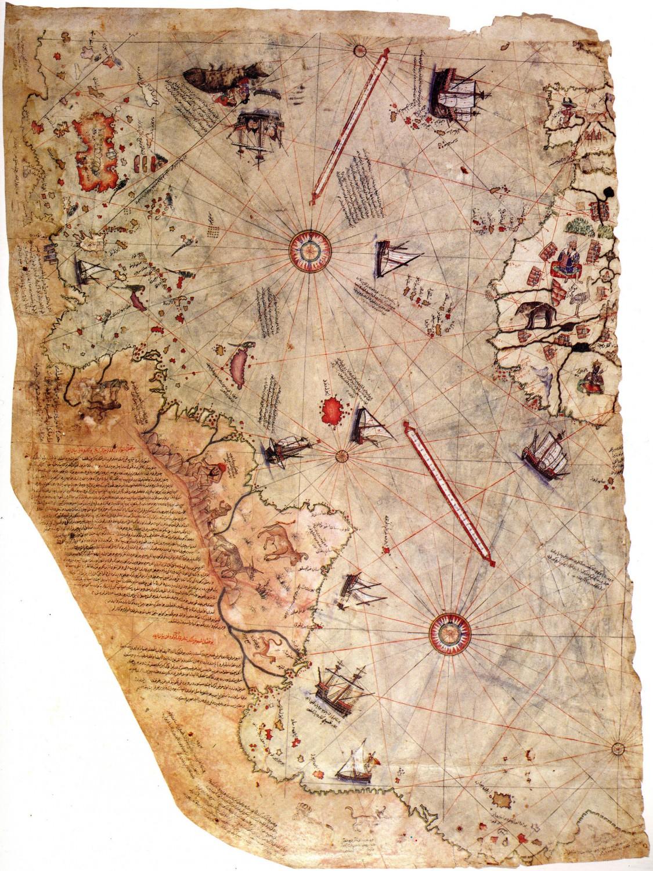 Карта на Пири Реис.
