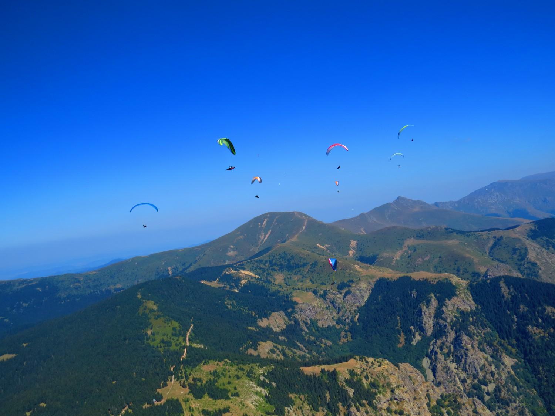 Стара планина над Сопот, връх Амбарица снимка: Ира Кюрпанова