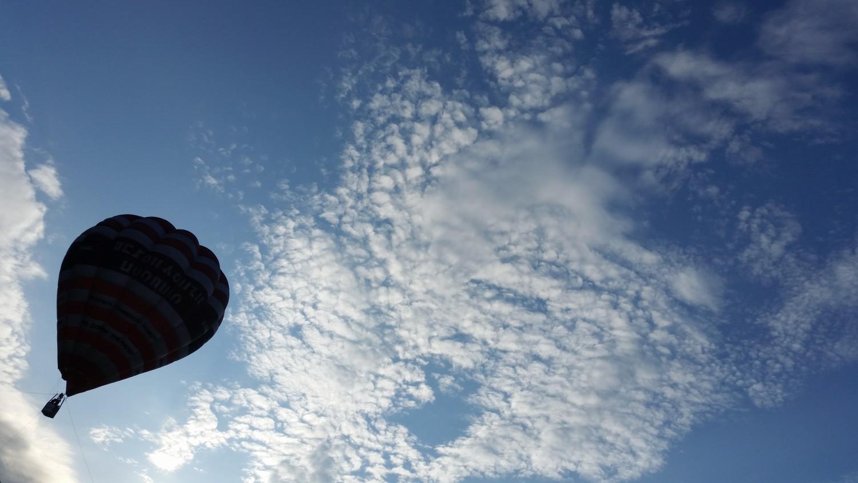 Въздухария, полет с балон снимка: Ира Кюрпанова