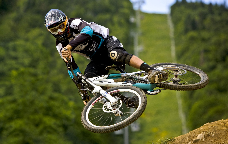 Enduro biking