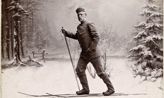 Фритьоф Нансен през 1884.