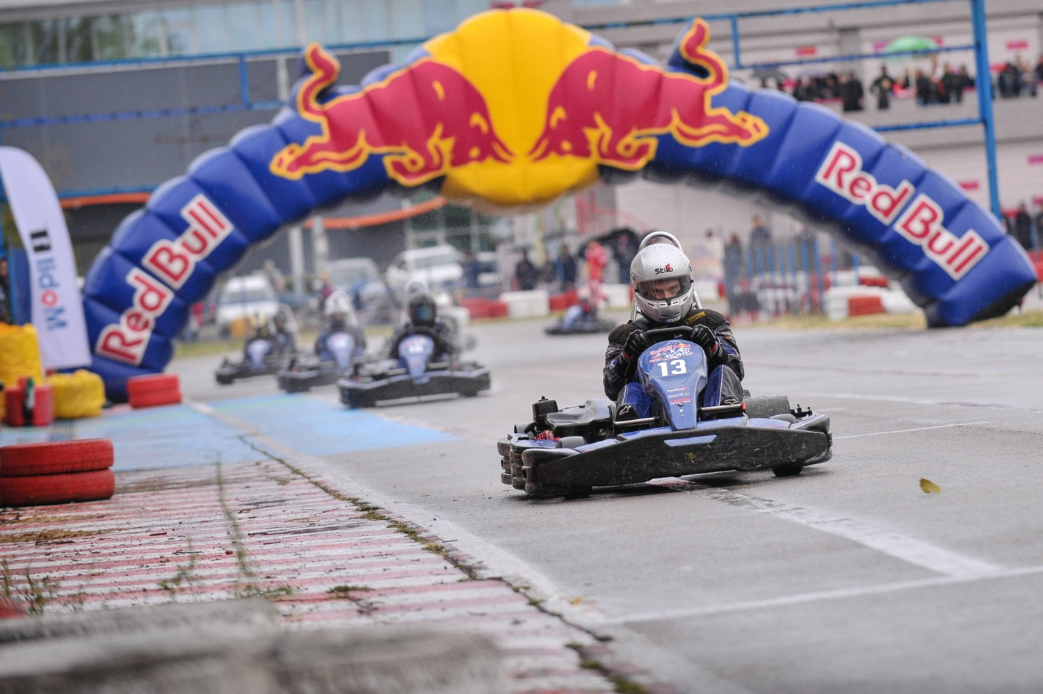 Participants perform during the Red Bull Kart Fight National Final in Plovdiv, Bulgaria on 30th of September 2017 © RedBull Content Pool