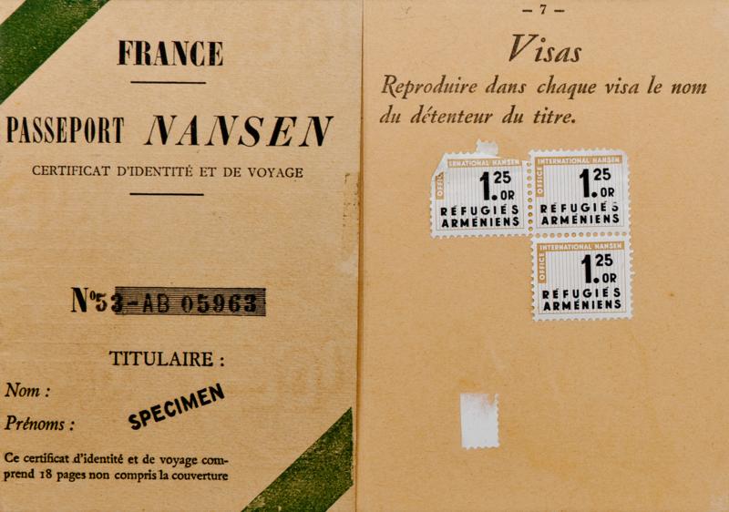 Нансен паспорт