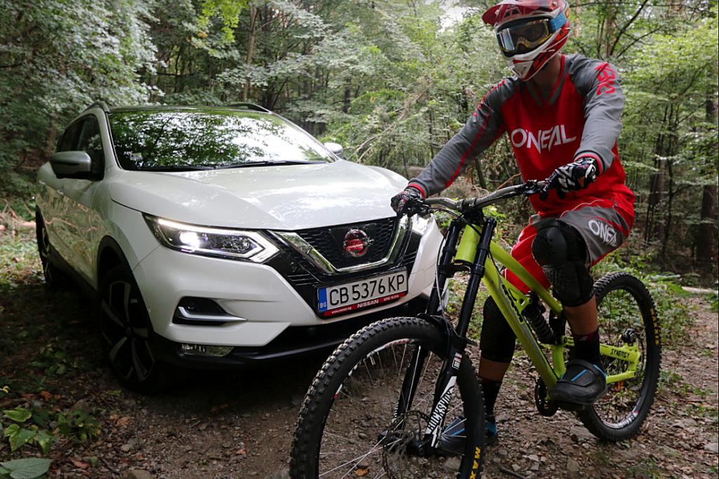 Росен Ковачев, Nissan Qashqai