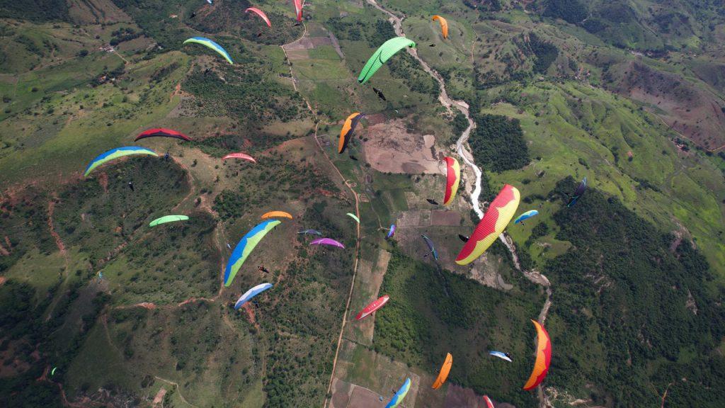 Парапланеризъм в Бразилия