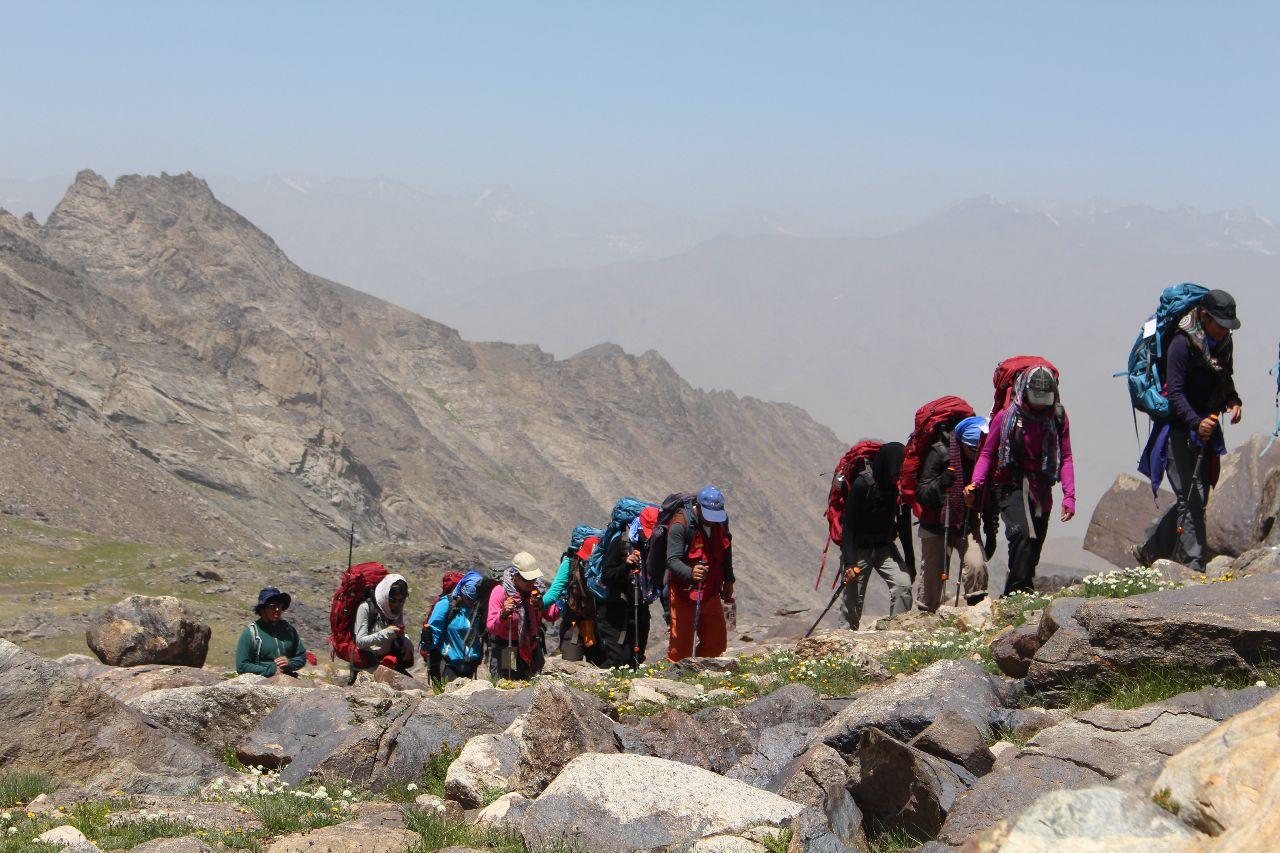 Катерене в Афганистан