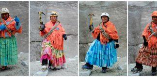 Жените планинари в Боливия