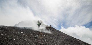 Със ски по вулкана Етна
