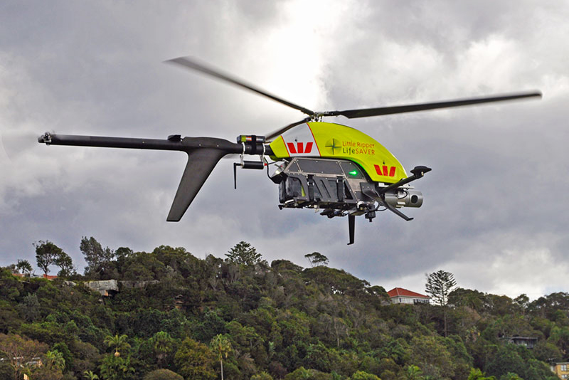 Спасителна операция с дрон
