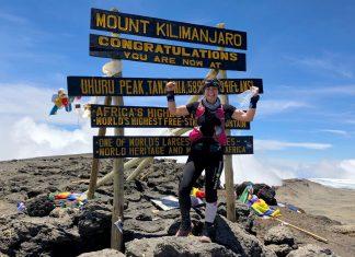 Рекорд за скоростно изкачване на Килиманджаро