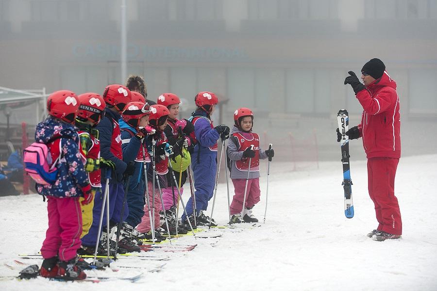 Научи се да караш ски