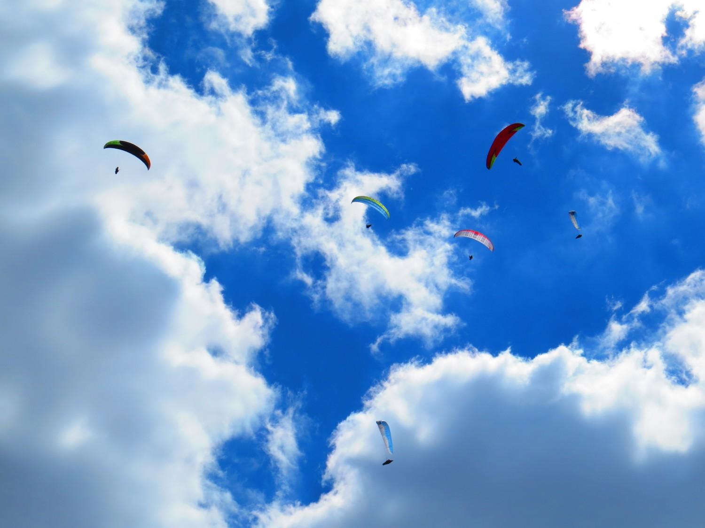 Високо, в облациоте над София снимка:Ира Кюрпанова